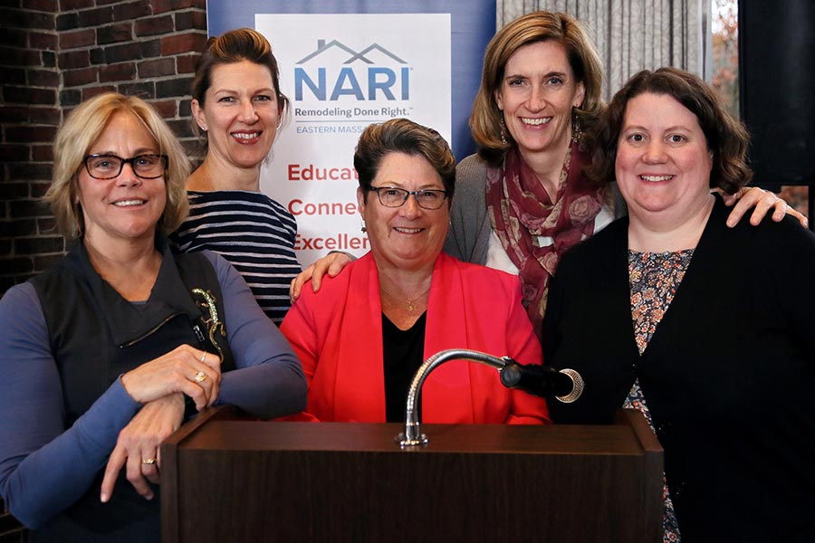 inaugural Women in Remodeling event